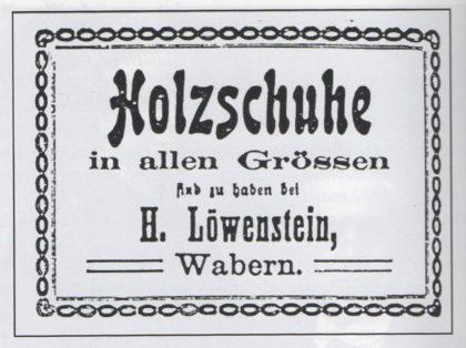 Geschäftsanzeige im Fritzlarer Kreis-Anzeiger vom 20. August 1918. Foto: Archiv Thomas Schattner
