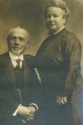 Gitta und Simon Löwenstein (undatierte Fotografie). Foto: Archiv Thomas Schattner