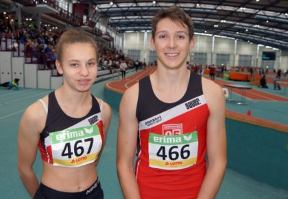 Malin Wagner und Fabian Feldmann. Foto: nh