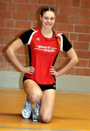 Nele Grenzebach (MT Melsungen) holte sich auf Regionalebene ihren ersten Sprinttitel in der Halle. Foto: Lothar Schattner