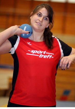 Nach ihrem 4. Kugelstoßtitel in Folge kann man Lisa Arend (MT Melsungen) als Abonnementsiegerin bezeichnen. Foto: Lothar Schattner