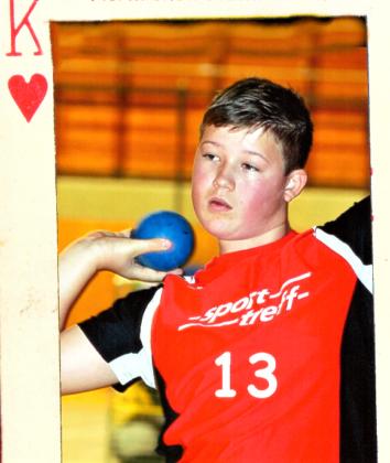 Zwei Tage nach seinem 13. Geburtstag möchte Luis André auch in Leipzig unbesiegt bleiben. Foto: nh