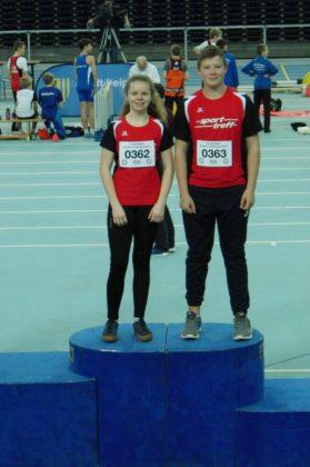 Vivian Groppe und Luis André siegten in Leipzig. Foto: nh