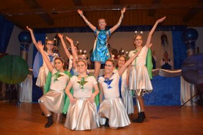 Die Typsi Ten Tanzgruppe der KKG. Foto: nh