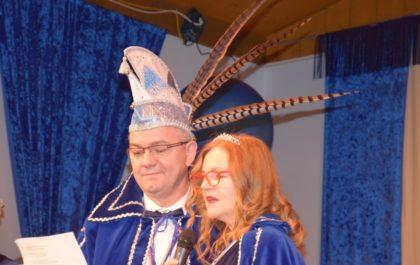 Prinz Jörg I. und Prinzessin Anette I. aus dem Hause Gonnermann zu Kirchberg. Foto: nh