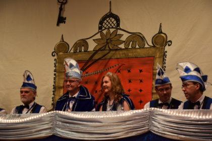 Prinzessin Anette I. und Prinz Jörg I. aus dem hause Gonnermann zu Kirchberg. Foto: nh