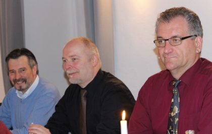 Gerald Rode, Klaus Mai und Klaus Sonntag (v.l.). Foto: nh