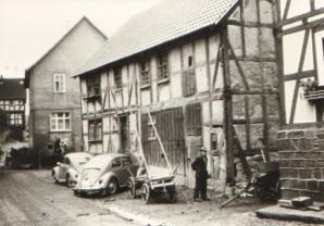 Das ehemalige Wohnhaus der Familie Moses/Seligmann. Foto: Archiv Richard Faust, Neuental-Waltersbrück