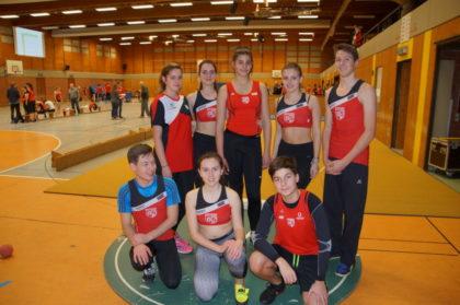 TSV Athleten am Freitagabend (U16 und älter). Foto: nh