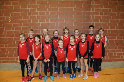 TSV-Athleten am Samstag (14 und U12). Foto: nh