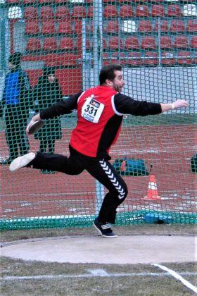 Norbert Weinreich wird immer besser. In Madrid verbesserte er den Diskusrekord für den Schwalm-Eder-kreis für die M50 auf 44,29 Meter. Foto: nh