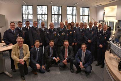 Verleihung der Brandschutzehrenzeichen in Homberg. Foto: nh