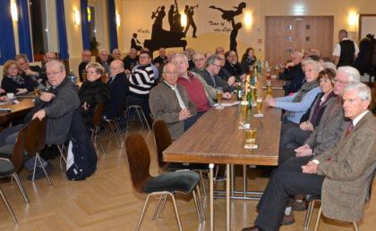 Gut-Besucht: Rund 80 Gästen verfolgten den Vortrag von Vizepräsident Lahl mit großem Interesse. Foto: nh