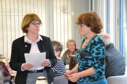Inge Fleschenberg und Cornelia Kern (v.l.). Foto: Hephata