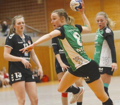 Laura Nolte spielt seit 13 Jahren in Kirchhof Handball, nun hat das Zusatzstudium für die angehende Lehrerin Vorrang. Foto: Foto: Richard Kasiewicz/SG 09 Kirchhof