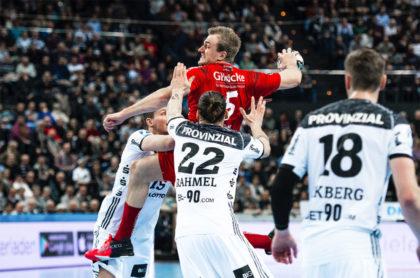 Julius Kühn war in Kiel bester Torschütze auf Seiten der MT. Foto: Alibek Käsler