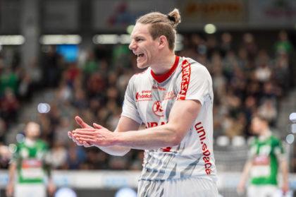 Tobias Reichmann war bester Torschütze auf Seiten der MT. Foto: Alibek Käsler