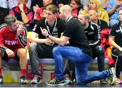 Heiko Grimm und Finn Lemke. Foto: Heinz Hartung