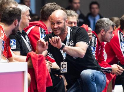 Der neue Chefcoach der MT Melsungen Bundesliga-Handball, Heiko Grimm. Foto: Alibek Käsler