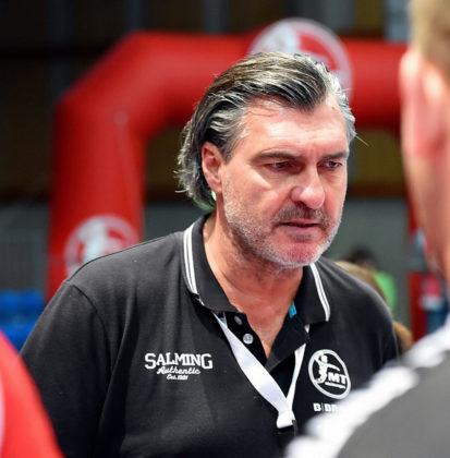 Michael Roth ist ab sofort nicht mehr Trainer der MT Melsungen. Foto: Heinz Hartung