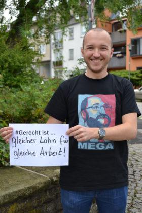Derzeit einziger Kandidat für den Juso-Bezirksvorsitz ist René Petzold aus Schenklengsfeld. Foto: nh