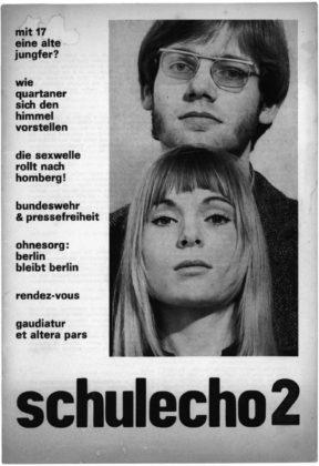 Cover einer Ausgabe des Schulechos. Quelle: Thomas Schattner