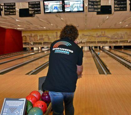Sportjugend beim Bowling. Foto: Maria Nohl