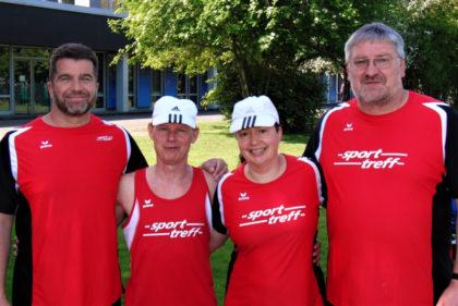 Ein erfolgreiches Quartett: Norbert Weinreich, Bernd Gabel, Monika Groh und Reiner Hilgenberg sicherten sich drei Meisterschaften, drei zweite Plätze und zwe dritte Ränge. Foto: nh