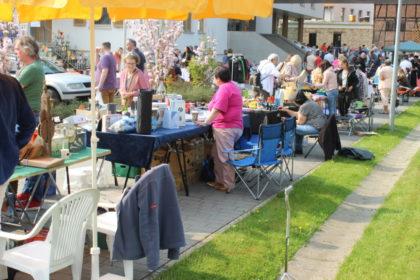 Flohmarkt in Melsungen am 27. Mai 2018 von 10 bis 16 Uhr. Foto: nh