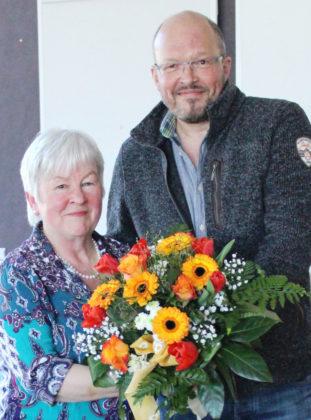 Doris Schäfer verabschiedete sich in die Passivphase ihres Berufslebens. Foto: nh
