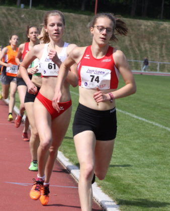 Eine starke Vorstellung bot die 17-jährige Lynn Olson als Siegerin der W20 mit 2.26,90 Minuten. Foto: nh