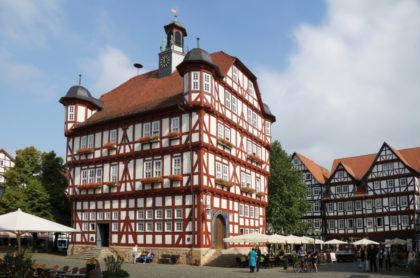 Rathaus Melsungen. Foto: nh