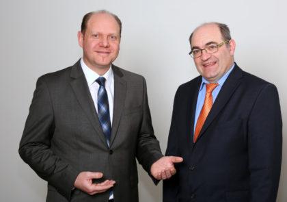 Jörg Reuscher (links) und Ingo Stegner. Foto: Jörg Lantelme