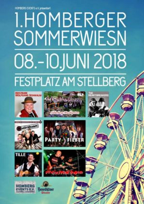 Sommerwiesn vom 8.bis 10. Juni 2018 in Homberg.