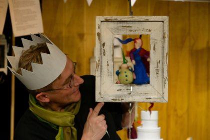 Papas Geburtstag und die Prinzessin Wilhelmine und der Drache - Theaterstück des Spielraum-Theaters. Foto: nh