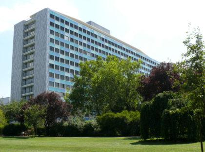 Das Statistische Bundesamtes in Wiesbaden. Foto: destatis