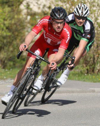 Kevin Vogel legt sich für den MT Radsport ins Zeug. Foto: Helene Rettig