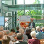 Hephata-Vorstandsprecher Maik Dietrich-Gibhardt begrüßte die Gäste. Foto: nh