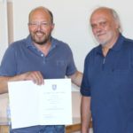Rolf Muster (links) und Reinhard Krech-Dombrowski. Foto: nh