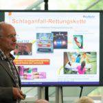 """""""Time is brain!"""" Darauf wies Hephata-Chefarzt Dr. Bernd Schade in seinem Referat deutlich hin. Foto: nh"""