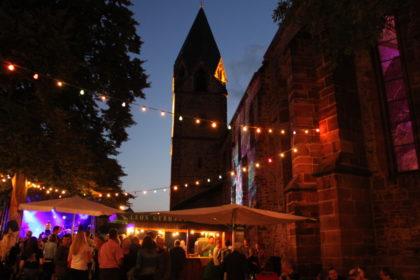Weindorf an der Totenkirche. Foto: nh