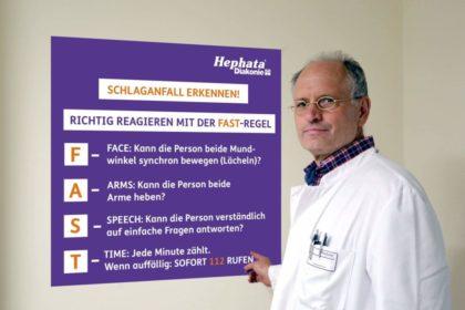 Dr. Bernd Schade, Chefarzt der Hephata-Klinik. Foto: nh