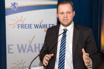 Engin Eroglu, Landesvorsitzender FREIE WÄHLER Hessen und Spitzenkandidat für die Europawahl 2019. Foto: nh