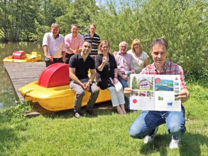 Europas größter Ferienhausanbieter Novasol wirbt im Feriendorf Frankenau mit der MeineCardPlus um neue Gäste. Foto: nh