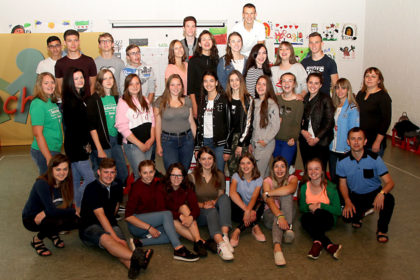 Grenzen überwinden: Teilnehmer/innen der Jugendbegegnung zwischen Schtschyrez (Ukraine) und Gudensberg (Deutschland). Foto: Sander | nh