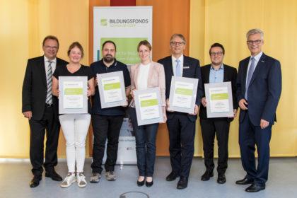 Bildungsfonts Schwalm-Eder Sponsoren Ehrung, Homberg (Efze), Sommer 2018