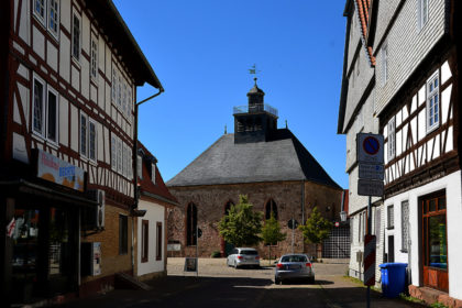 Evangelische Stadtkirche. Foto: Schmidtkunz