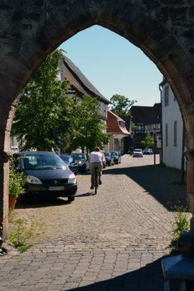 Blick durchs Lüdertor. Foto: Schmidtkunz