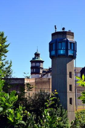 Treppenturm und Wachturm am Großen Wallgraben. Foto: Schmidtkunz