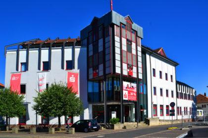 Sparkassendirektion an der Landgraf-Philipp-Straße. Foto: Schmidtkunz